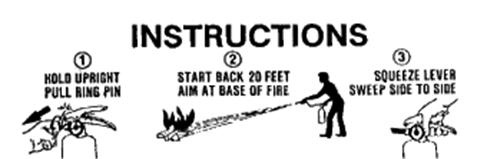 Extinguisher Instructions