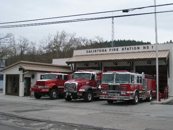 Calistoga Fire Station